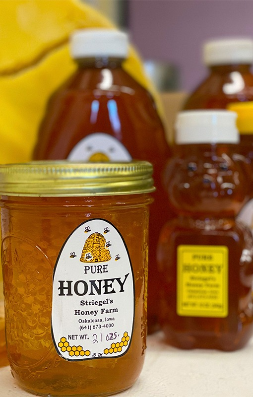Local Honey at Striegel Acres